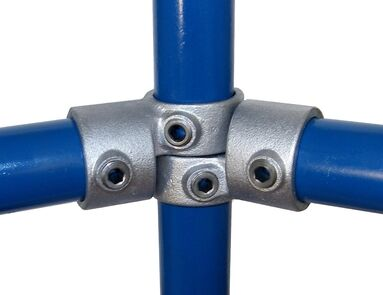 Interclamp 148C Short Swivel Tee Tube Clamp