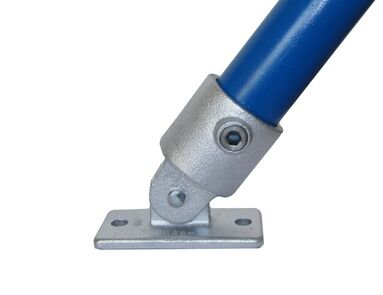 Interclamp 169 Swivel Wall Fixing Tube Clamp