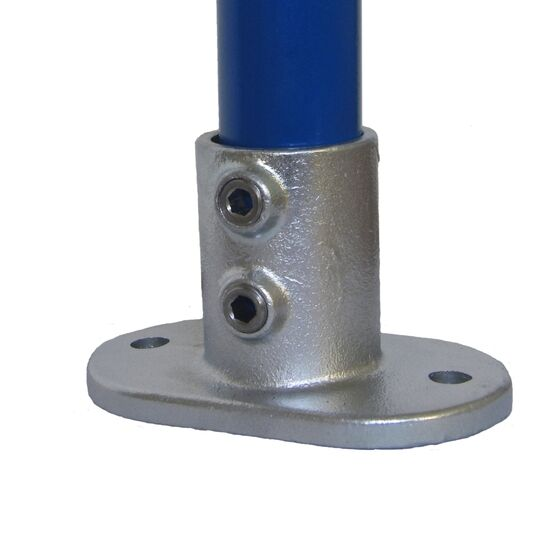 Interclamp 132 Railing Base Flange Tube Clamp